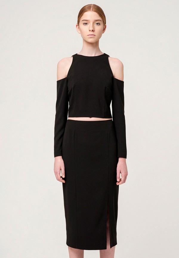 женский костюм minimally, черный