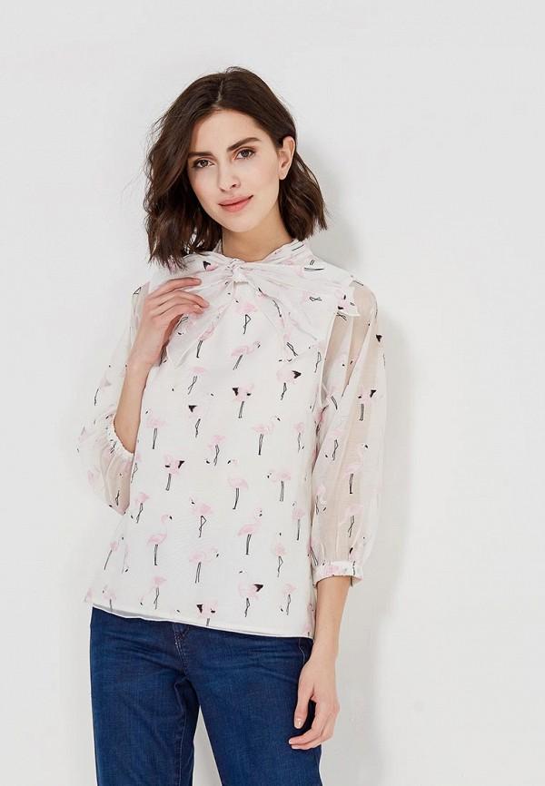 Купить Блуза Мария Браславская, Bl-Bant-rozov-flamingo, mp002xw13jph, белый, Осень-зима 2017/2018