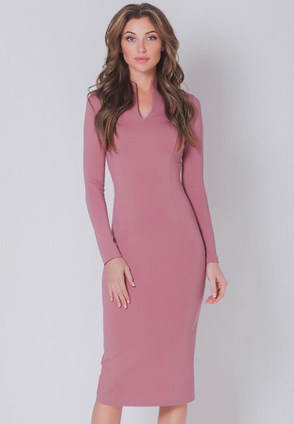 женское платье olga skazkina, розовое