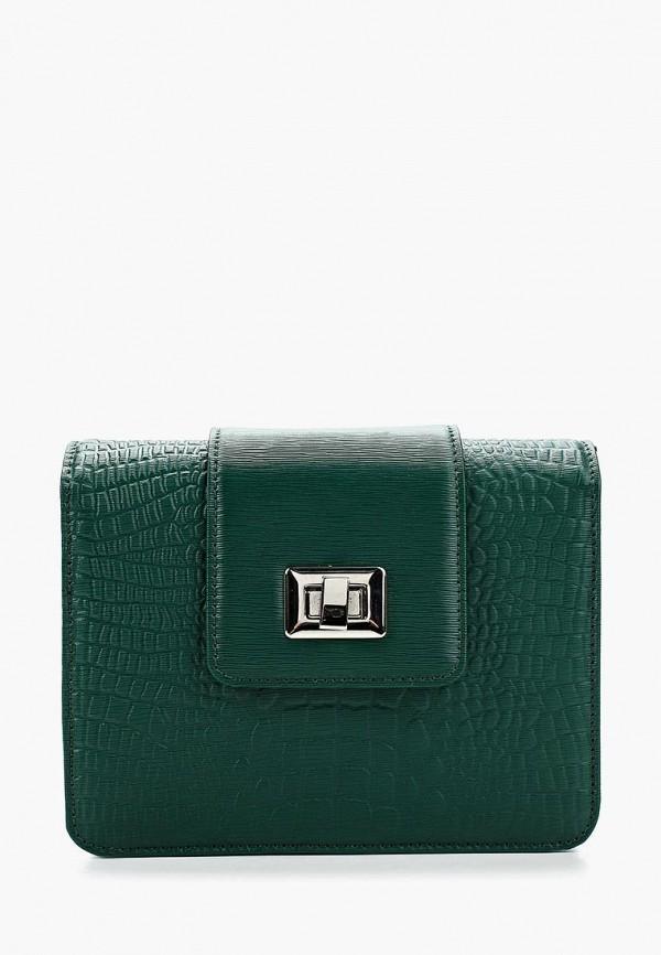 женская сумка d.angeny, зеленая