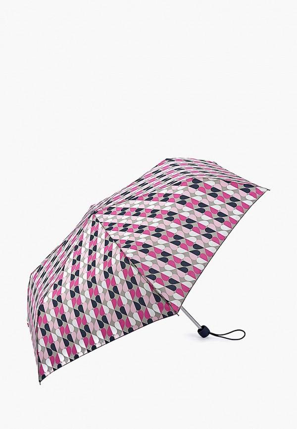 Зонт складной Fulton, MP002XW13LA8, розовый, Осень-зима 2017/2018  - купить со скидкой
