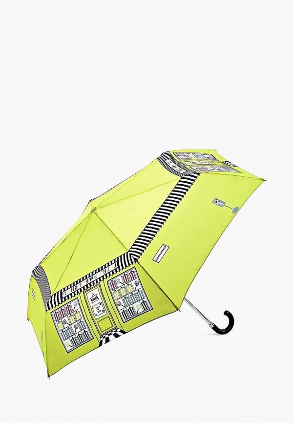 Купить Зонт складной Fulton, MP002XW13LAB, зеленый, Осень-зима 2017/2018
