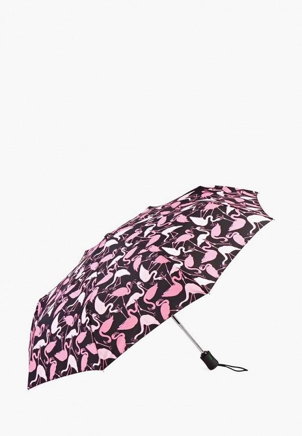 женский складные зонт fulton, розовый