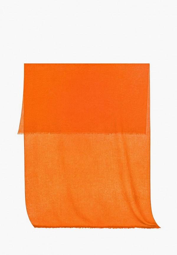женский палантин michel katana, оранжевый