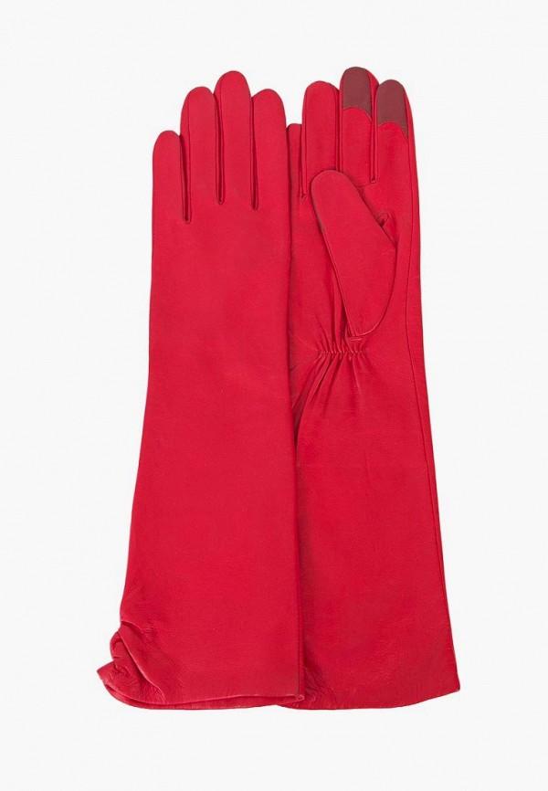 женские перчатки michel katana, красные