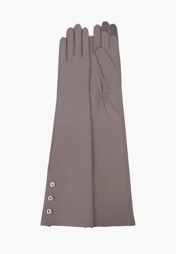 женские перчатки michel katana, серые