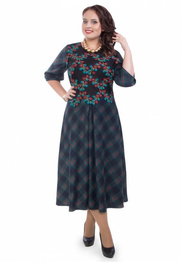 женское повседневные платье wisell, синее