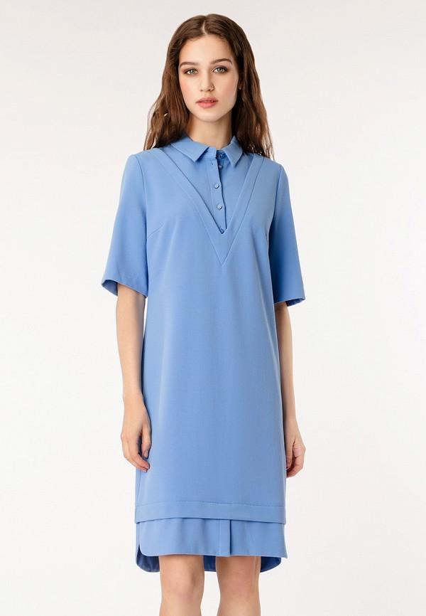 Купить Платье pompa, mp002xw13lkw, голубой, Осень-зима 2017/2018
