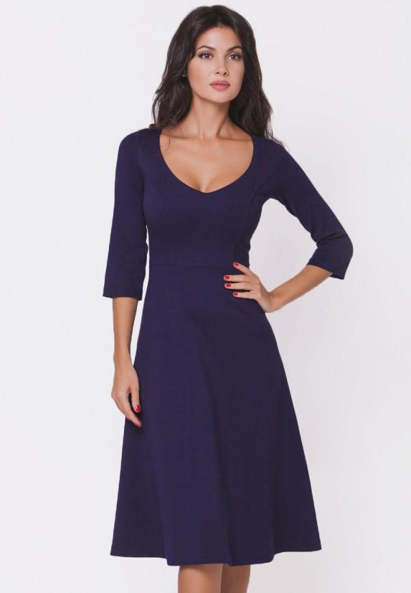 женское повседневные платье olga skazkina, синее