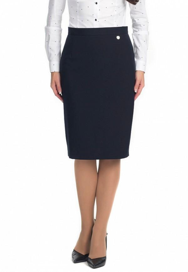 женская прямые юбка blauz, синяя