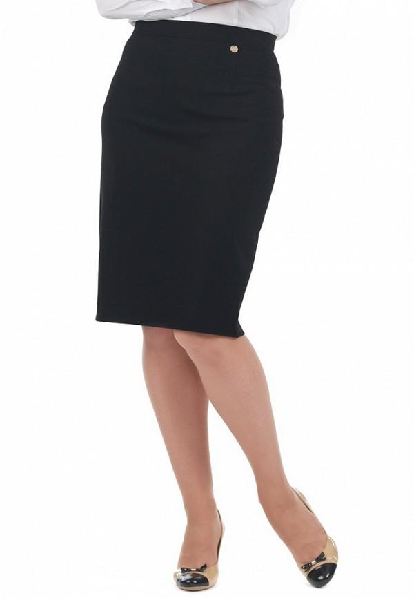 женская прямые юбка blauz, черная