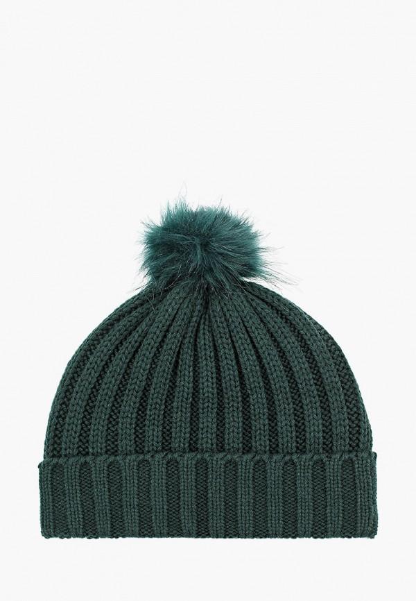 женская шапка colin's, зеленая