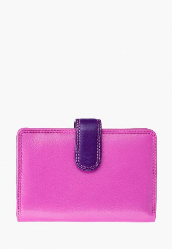женский кошелёк visconti, розовый