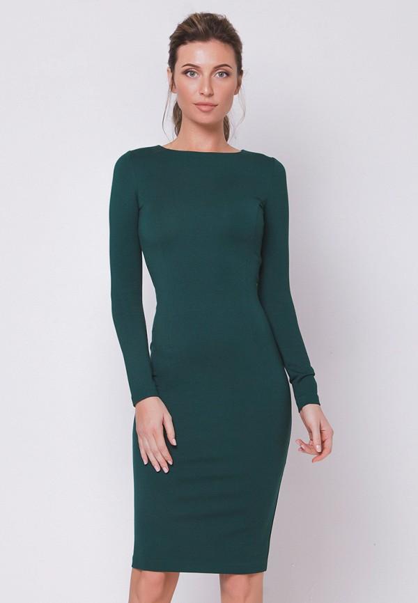 Купить Платье Olga Skazkina, MP002XW13NCP, зеленый, Осень-зима 2017/2018
