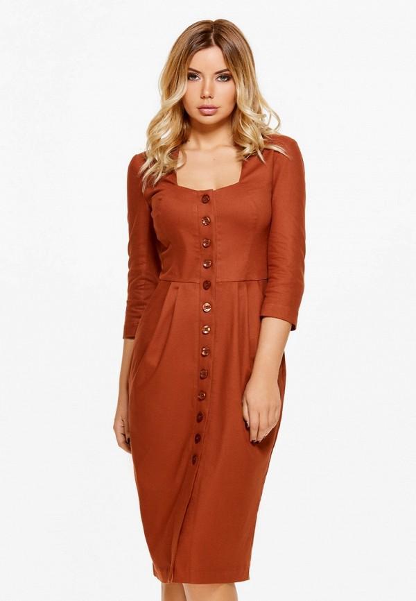 Купить Платье SoloU, mp002xw13nf7, оранжевый, Осень-зима 2018/2019