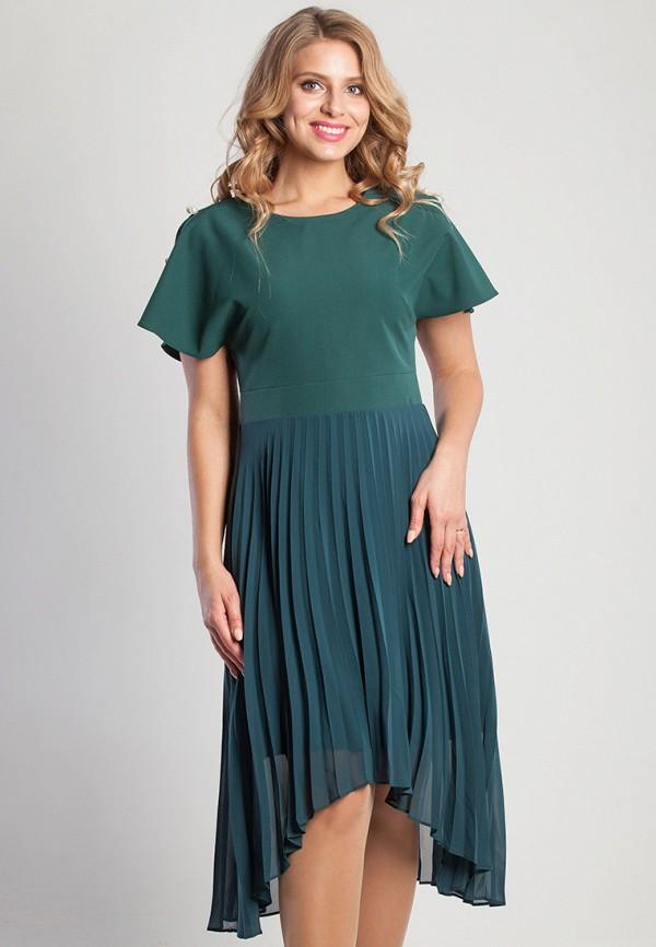 женское платье olga peltek, зеленое
