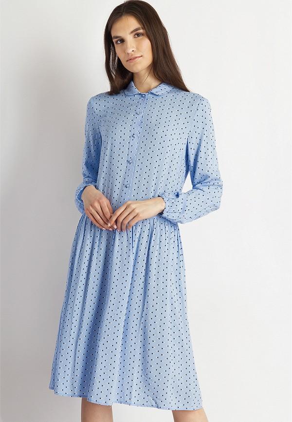 Платье Finn Flare цвет голубой