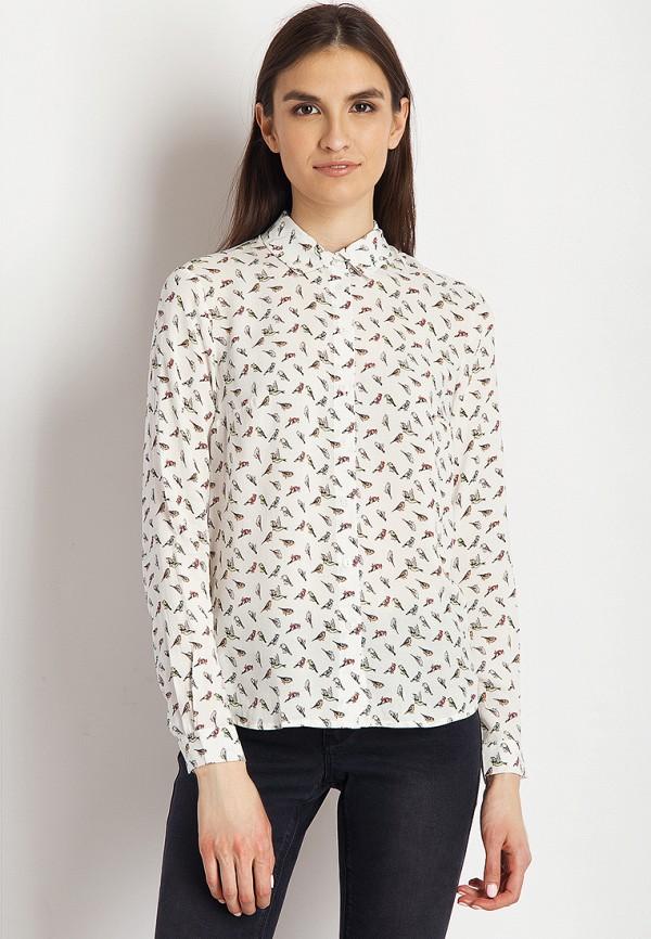 Купить Блуза Finn Flare, MP002XW13NMS, белый, Весна-лето 2018
