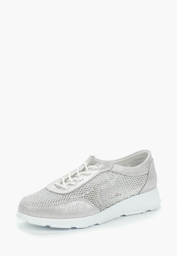 женские кроссовки destra, серебряные