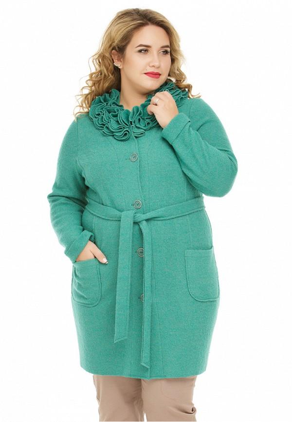 женский кардиган gorda bella, зеленый