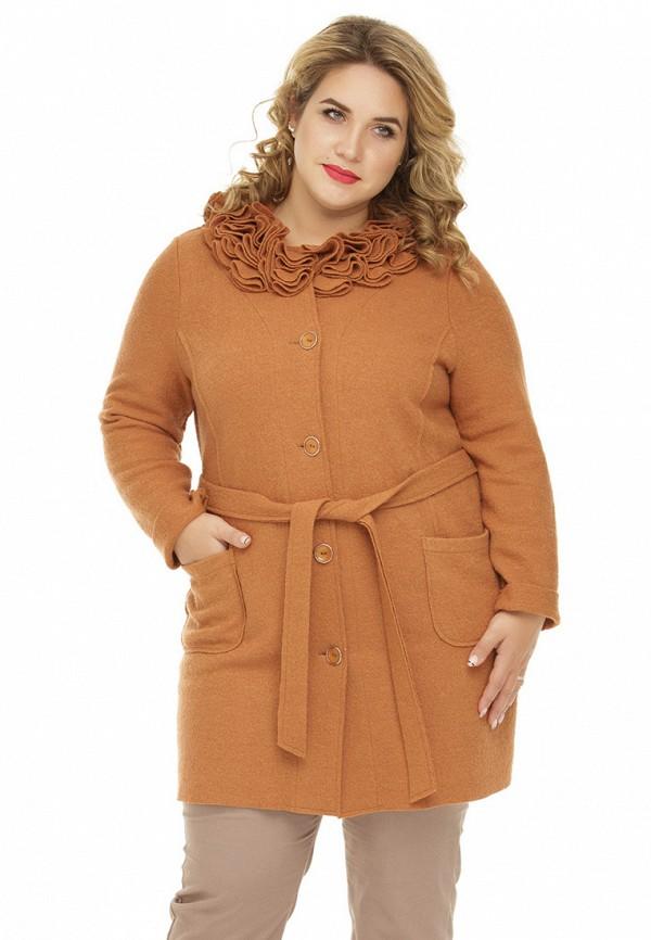 женский кардиган gorda bella, коричневый