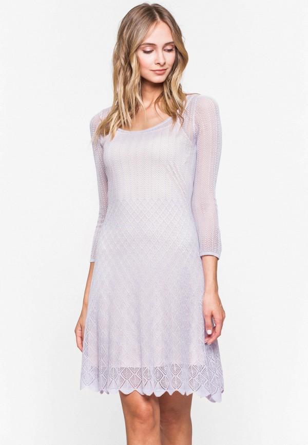женское повседневные платье jacote, фиолетовое