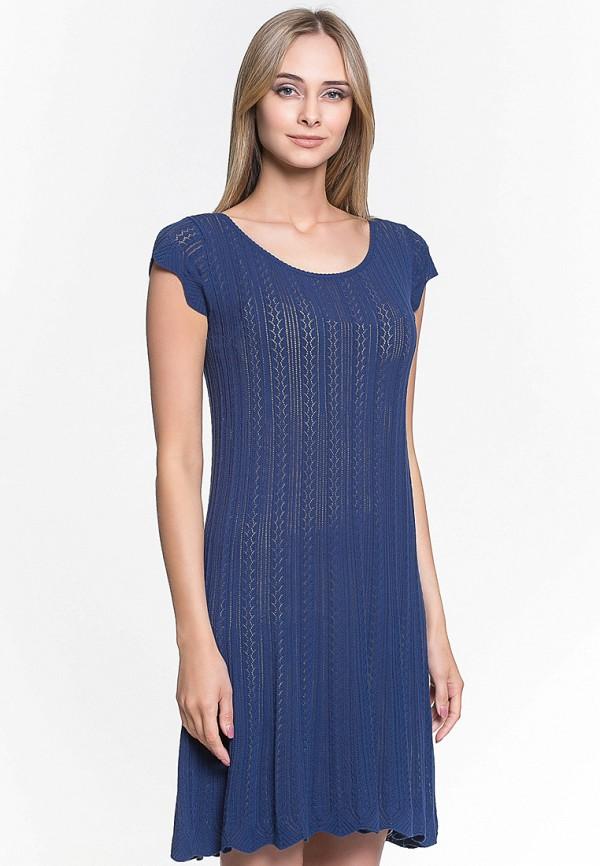 женское повседневные платье jacote, синее