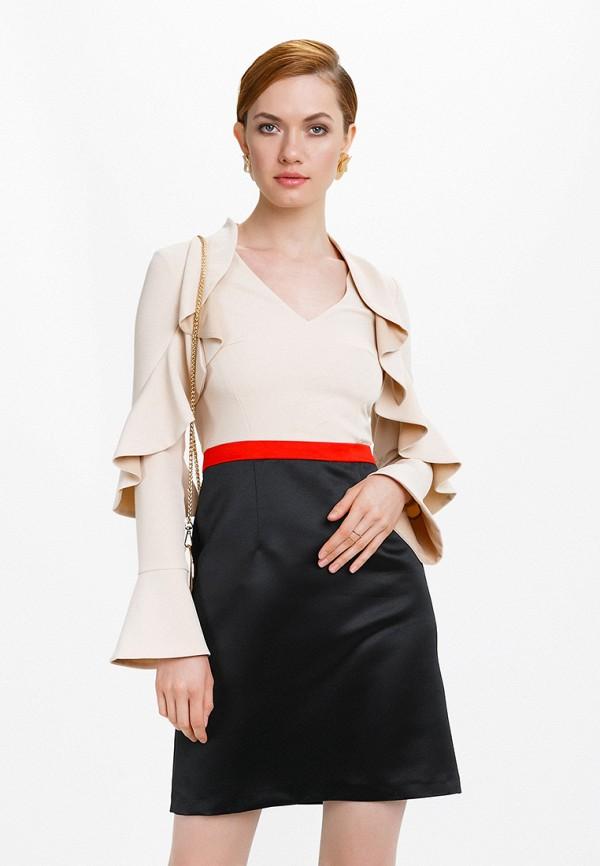 Платье Audrey Right, mp002xw13or0, бежевый, Осень-зима 2017/2018  - купить со скидкой