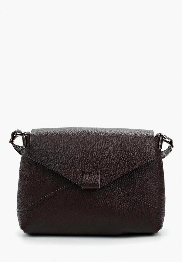 женская сумка divalli, коричневая