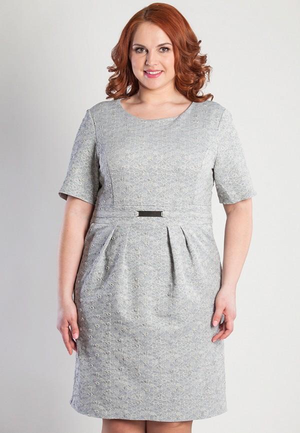 женское платье olga peltek, серое