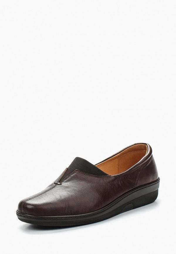женские туфли romer, коричневые