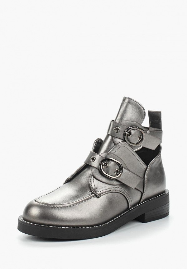 Купить Ботинки Vivian Royal, mp002xw13pw2, серебряный, Весна-лето 2018