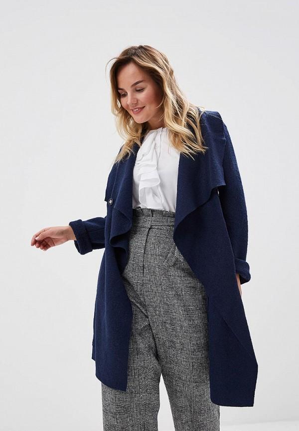 женское пальто grafinia, синее