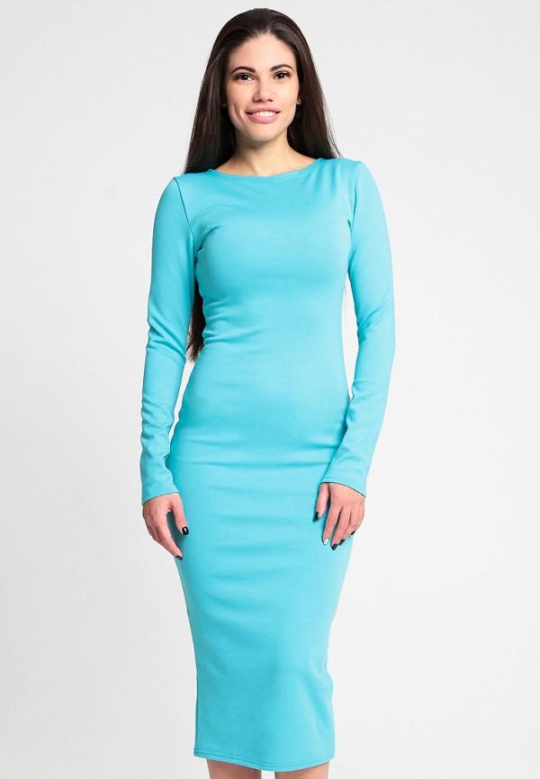 Купить Платье Malaeva, MP002XW13Q08, голубой, Весна-лето 2018