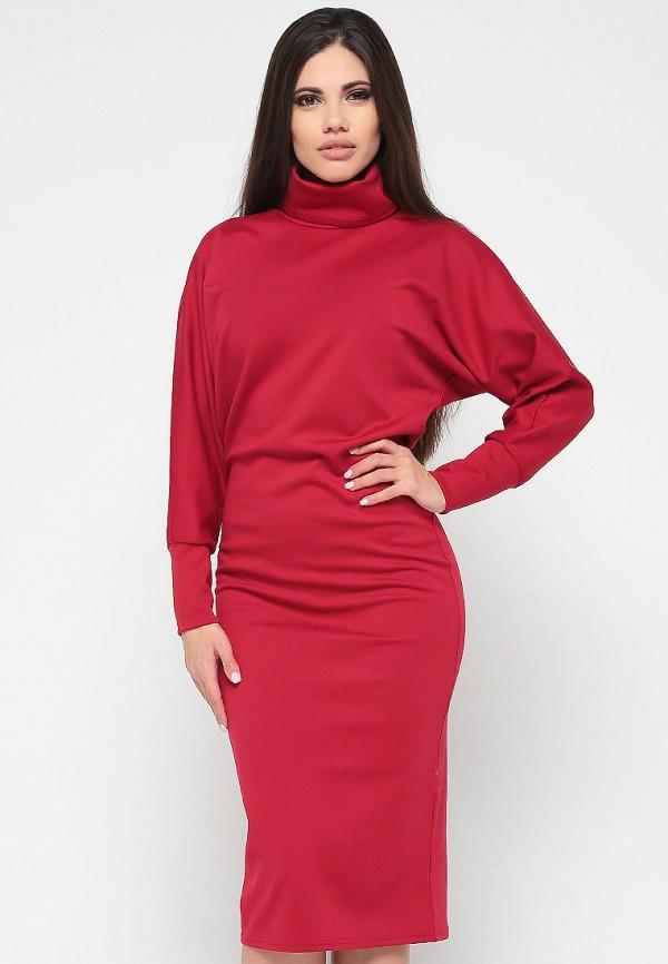 Купить Платье Malaeva, MP002XW13Q0B, бордовый, Весна-лето 2018