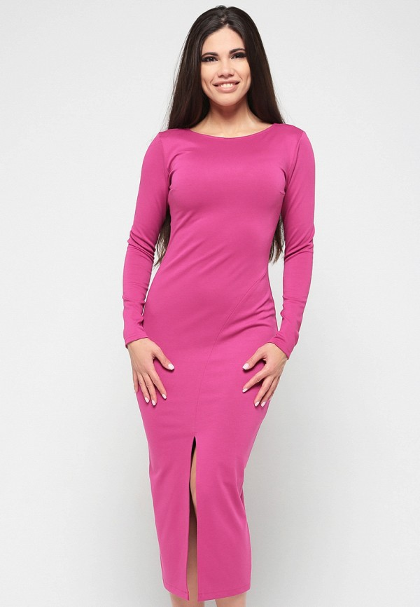 Купить Платье Malaeva, MP002XW13Q0D, розовый, Весна-лето 2018