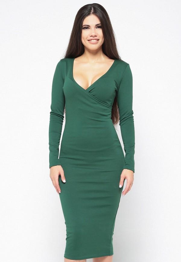 Купить Платье Malaeva, MP002XW13Q0F, зеленый, Весна-лето 2018