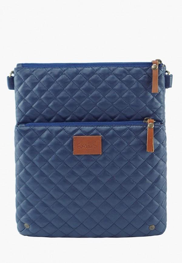 женская сумка exodus, синяя
