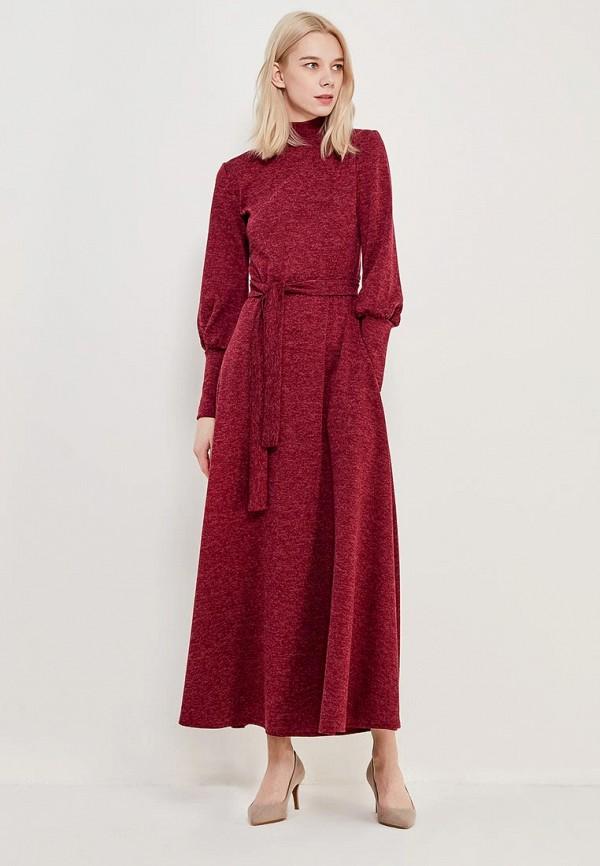 Купить Платье Alina Assi, MP002XW13QF2, бордовый, Осень-зима 2017/2018