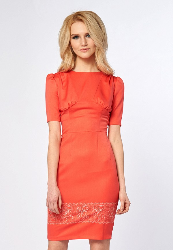 Купить Платье Ано, mp002xw13qjc, коралловый, Осень-зима 2017/2018