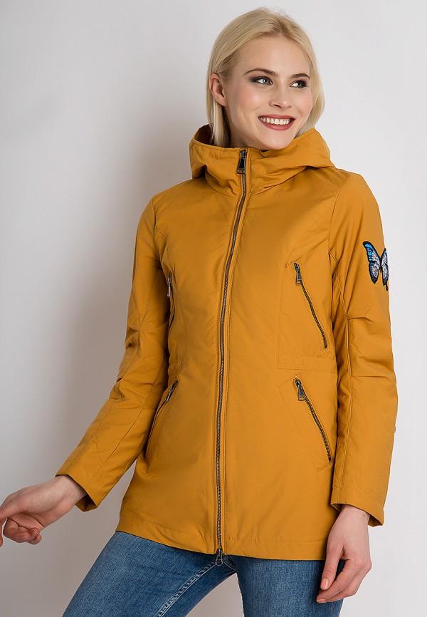 Купить Куртка утепленная Finn Flare, mp002xw13r8v, оранжевый, Осень-зима 2018/2019