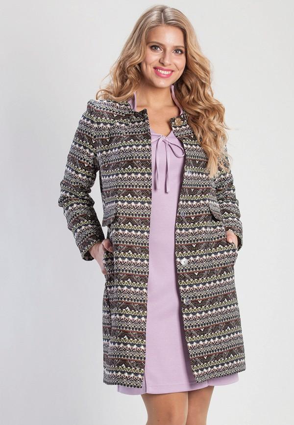 женское пальто olga peltek, разноцветное