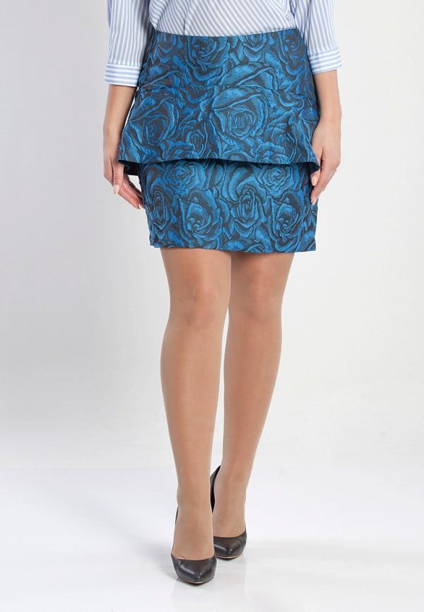 женская юбка olga peltek, синяя