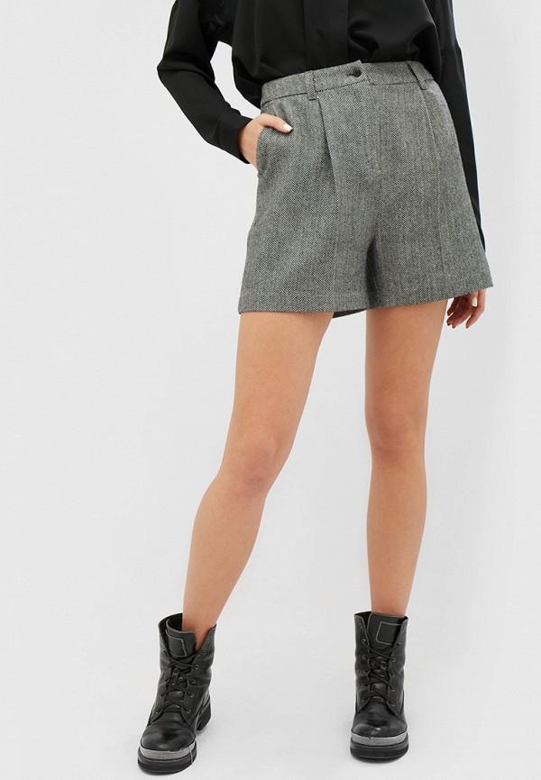 женские повседневные шорты cardo, серые