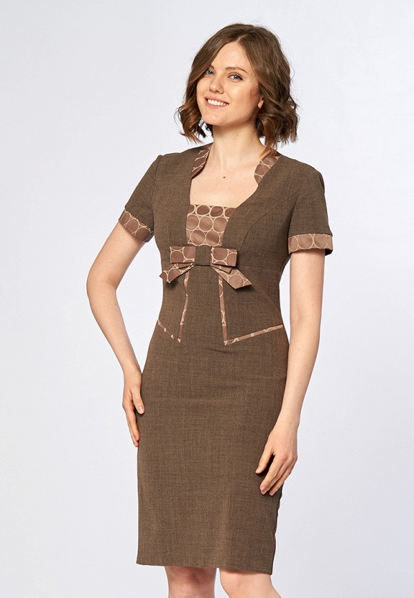 Купить Платье Ано, MP002XW13RO1, коричневый, Весна-лето 2018