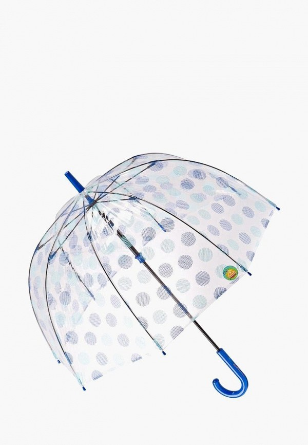женский зонт-трости fulton, разноцветный