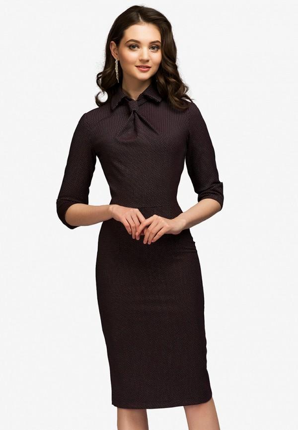 Купить Платье 1001dress, MP002XW13S6G, бордовый, Весна-лето 2018