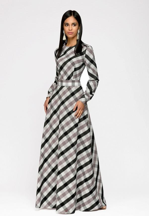 Купить Платье D&M by 1001 dress, mp002xw13s6j, серый, Весна-лето 2018