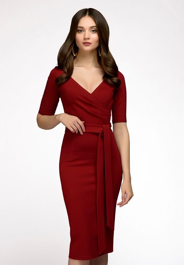 Купить Платье 1001dress, MP002XW13S73, бордовый, Весна-лето 2018