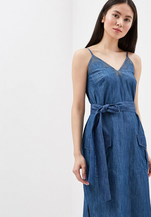 Платье джинсовое Chapurin Chapurin MP002XW13S7S